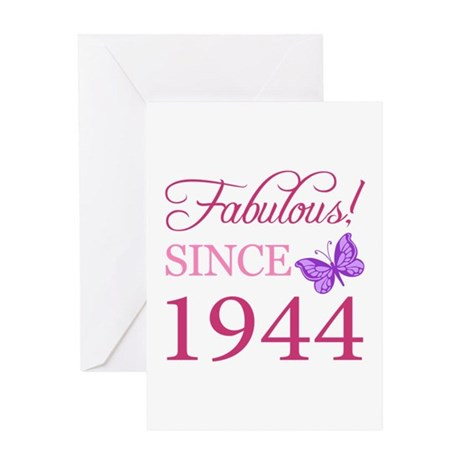 Fabulous Since 1944 Greeting Card