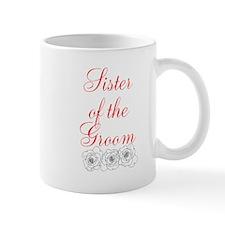 Sister of the Groom Mugs