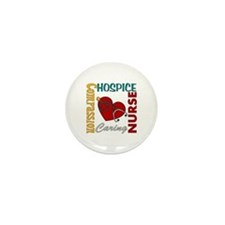 Hospice Nurse Mini Button (10 pack)