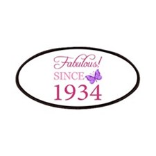 Fabulous Since 1934 Patches