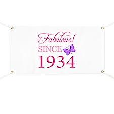 Fabulous Since 1934 Banner