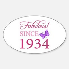Fabulous Since 1934 Decal