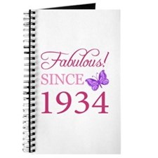 Fabulous Since 1934 Journal
