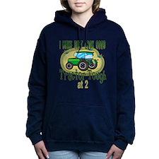 Tractor Tough 2.png Hooded Sweatshirt