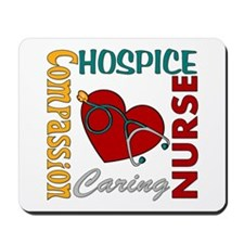 Hospice Nurse Mousepad
