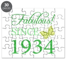 Fabulous Since 1934 Puzzle