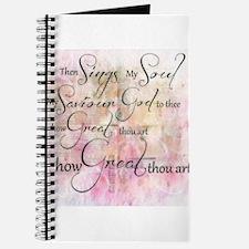 How great thou art Journal