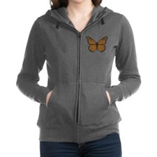Monarch Women's Dark Zip Hoodie