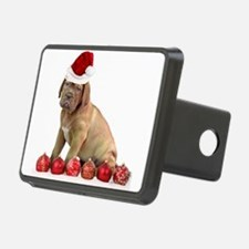 Christmas Dogue de Bordeaux puppy Hitch Cover
