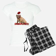 Christmas Dogue de Bordeaux puppy Pajamas