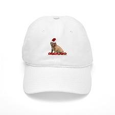 Christmas Dogue de Bordeaux puppy Baseball Baseball Cap
