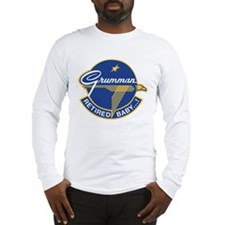 Grumman Retired Baby ! Long Sleeve T-Shirt