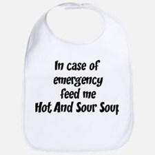 Feed me Hot And Sour Soup Bib