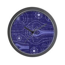 The Earths Magnetosphere Wall Clock