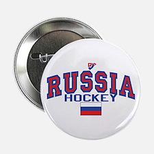 """RU Russia/Rossiya Hockey 2.25"""" Button"""