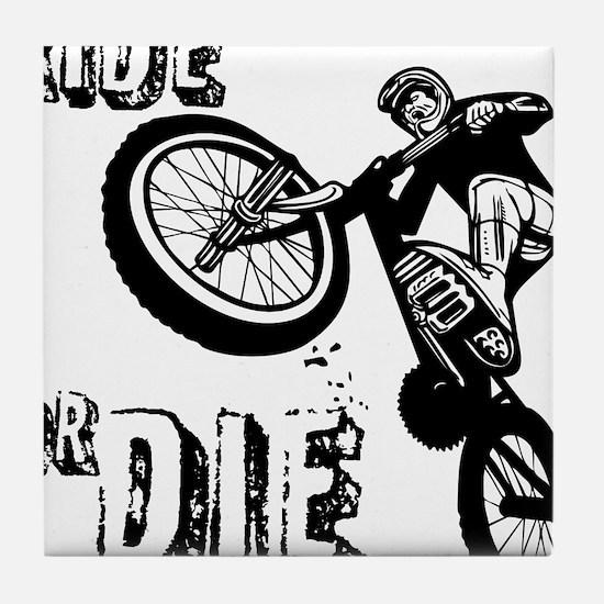 RIDE OR DIE Tile Coaster