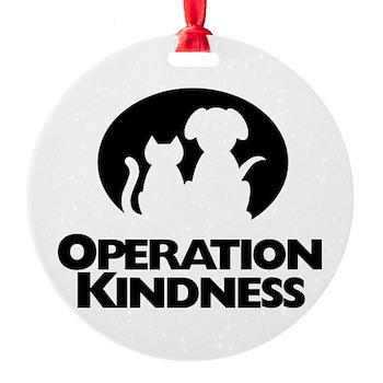 Operation Kindness Round Ornament