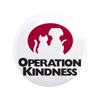 Operation Kindness 3.5&Quot; Button