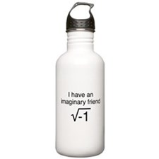 I Have An Imaginary Friend Water Bottle
