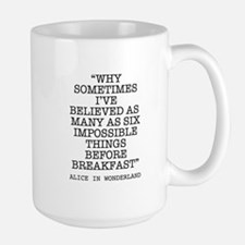 ALICE QUOTE Mugs