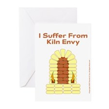 I Suffer From Kiln Envy Greeting Cards (Package of