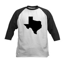 Texas - Black Baseball Jersey