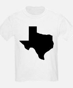 Texas - Black T-Shirt