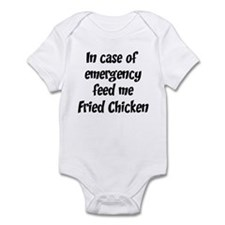 Feed me Fried Chicken Infant Bodysuit