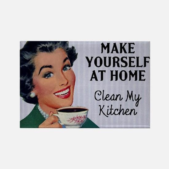 Make Yourself At Home Fridge Magnet