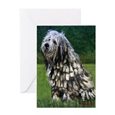 Bergamasco Dog Greeting Cards