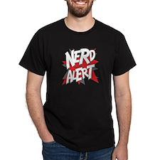 Dark Nerd Alert T-Shirt