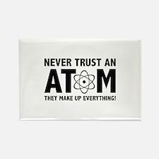 Never Trust An Atom Rectangle Magnet (100 pack)