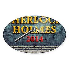 Sherlock Holmes 2014 calendar Decal