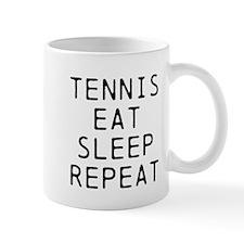 Tennis Eat Sleep Repeat Mugs