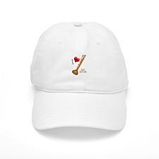 I Love My SITAR Baseball Cap