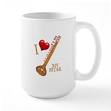 I Love My SITAR Mug