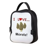 I Love Morels Neoprene Lunch Bag
