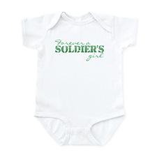 Funny Sexy army wife Infant Bodysuit