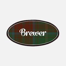 Brewer Tartan Patches