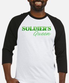 soldiersqueengreen Baseball Jersey