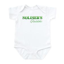 Unique Sexy army wife Infant Bodysuit