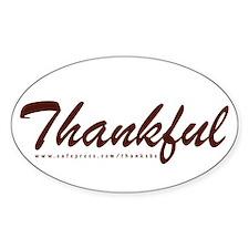 Thankful Decal