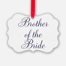 Brother of the Bride Ornament
