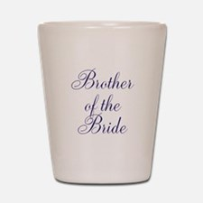 Brother of the Bride Shot Glass