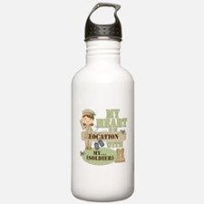 Christmas Soldier Water Bottle