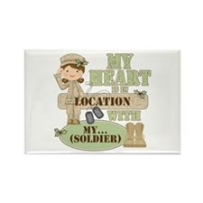 Christmas Soldier Rectangle Magnet (100 pack)