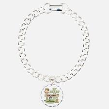 Christmas Soldier Charm Bracelet, One Charm