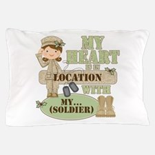 Christmas Soldier Pillow Case
