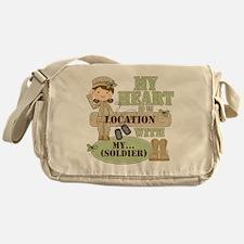 Christmas Soldier Messenger Bag