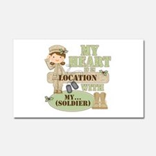 Christmas Soldier Car Magnet 20 x 12